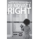 Renovate Right Brochure New Version - Spanish  Size: (5.5x8.5) - Black & White $0.55 each